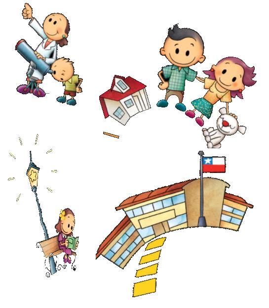 Educaci n y sociedad la comunidad escolar y la comunidad for Protectores animados