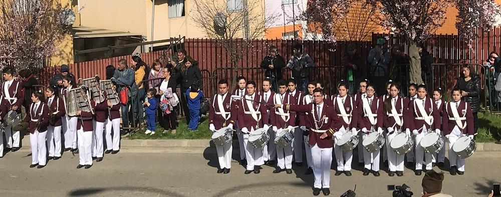 Desfile Batalla de Placilla