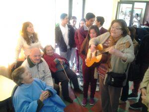 en hogar de ancianos